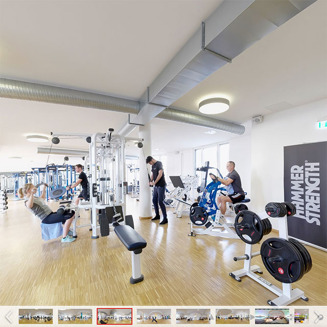 360°-Panorama - AMBIANCE Sports & Spa Pasing